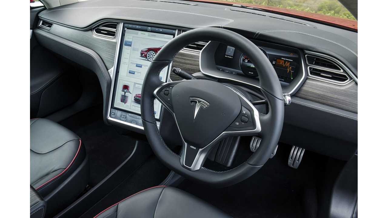 The Tesla Model S Interior (shown here in RHD) Is Probably The Feature Most Asked To Be Upgraded Today On The Premium EV