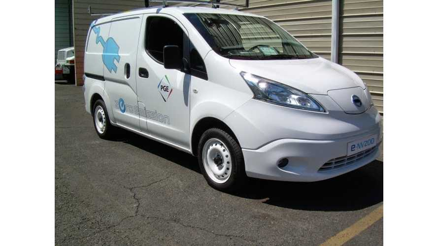 Nissan e-NV200 Being Tested In US By Portland General Electric