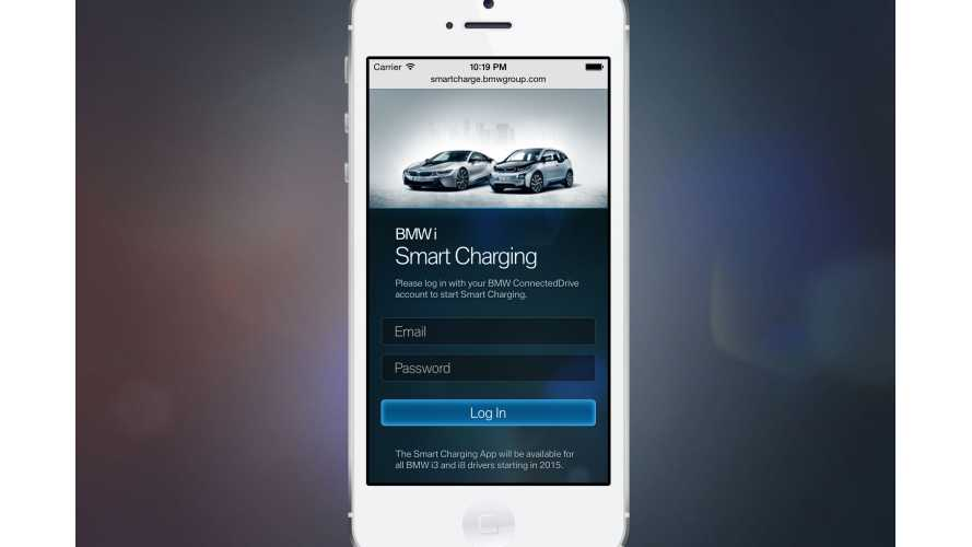 BMW i3 And i8 To Get Smart Charging App
