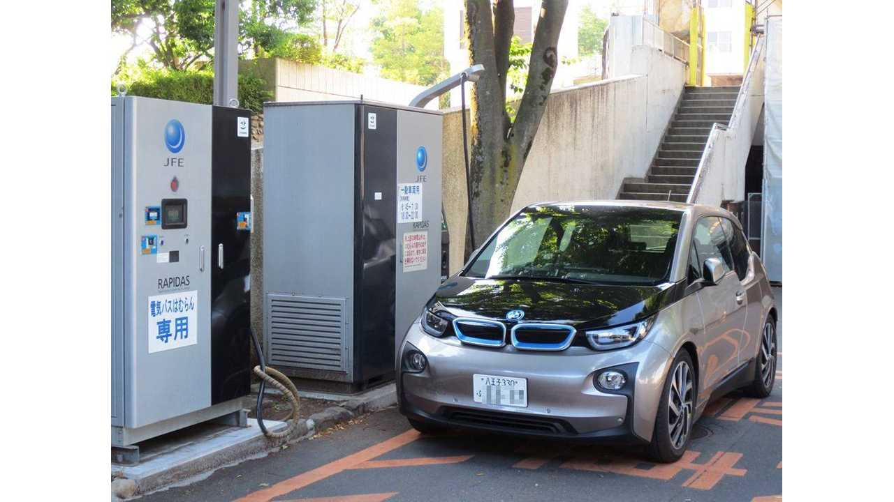 BMW i3 Gets CHAdeMO Charged In Japan