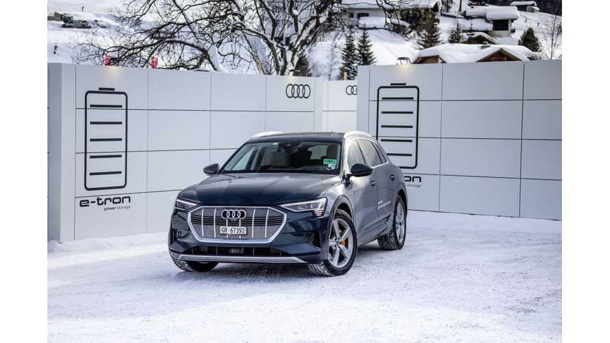 Audi e-tron Test Drive Review By Bjørn Nyland: Video