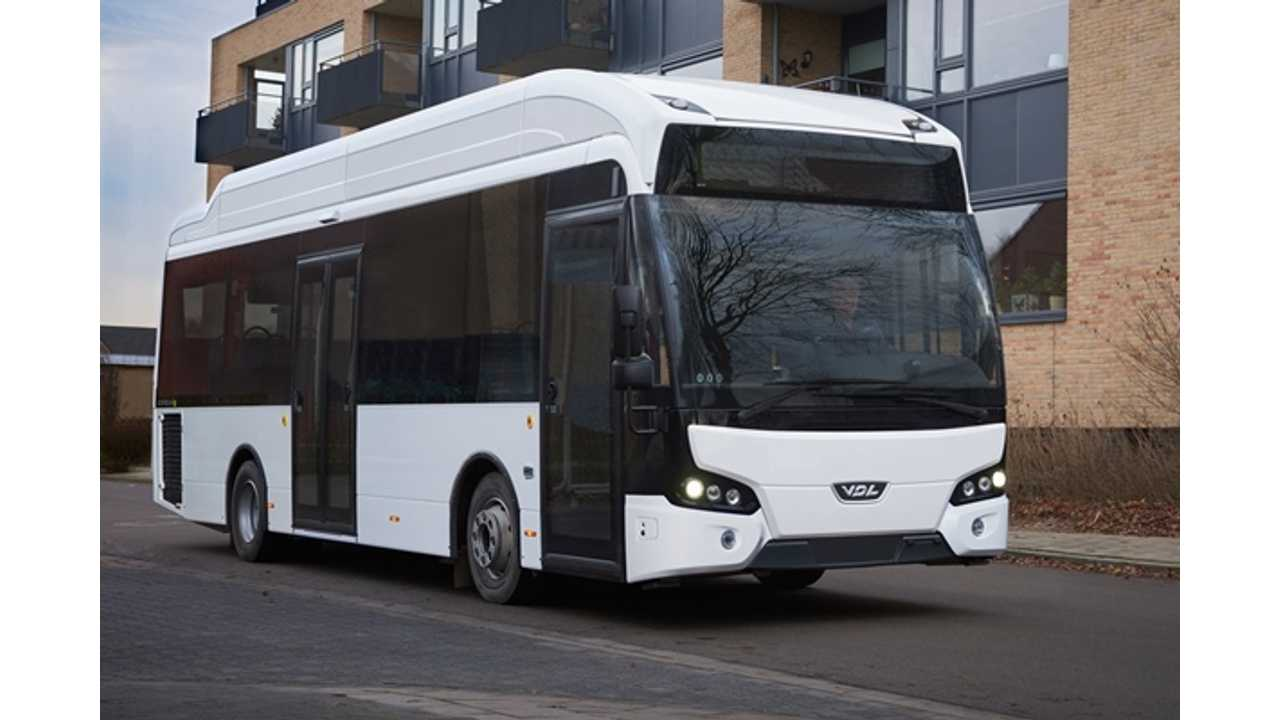 VDL Expands Electric Bus Offer With Citea LLE-115 Electric