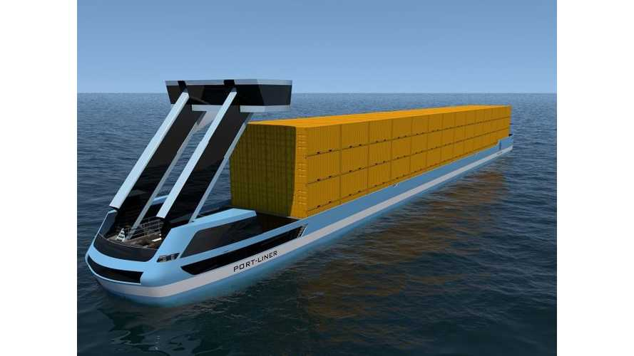 """Tesla Ships"" - AKA Massive Electric Container Ships - To Launch Later This Year"