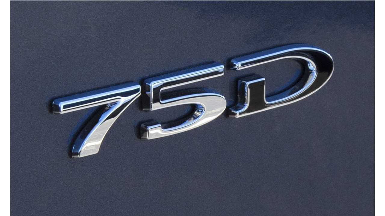 Older 75D Tesla Model S And X Vehicles Get 0-60 mph Bump - For Free
