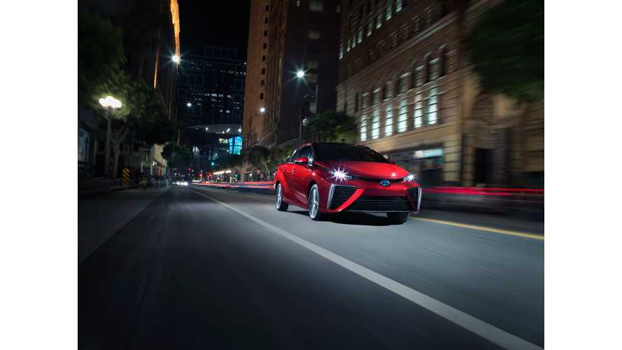 Toyota Mirai Sales Eclipse 3,000 In California