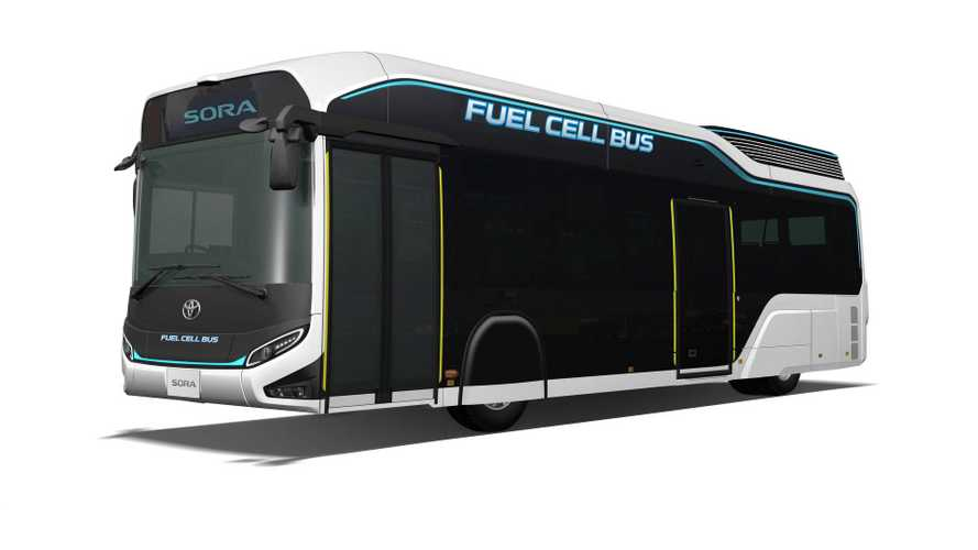 Toyota Sora Fuel Cell Bus To Debut In Tokyo