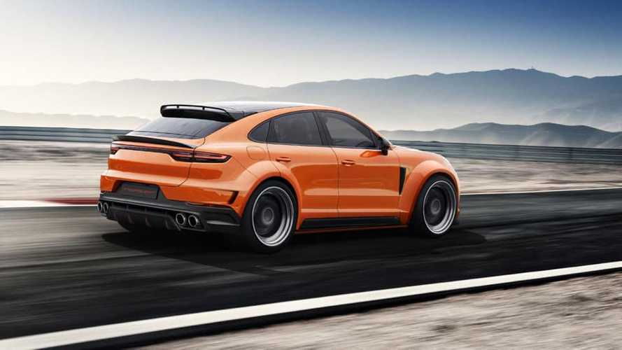 Tuned Porsche Cayenne Coupe already planned