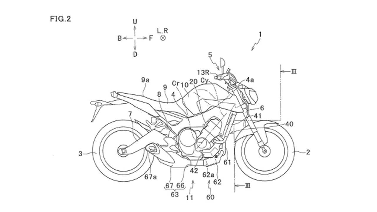 Yamaha Turbocharged Engine Patent