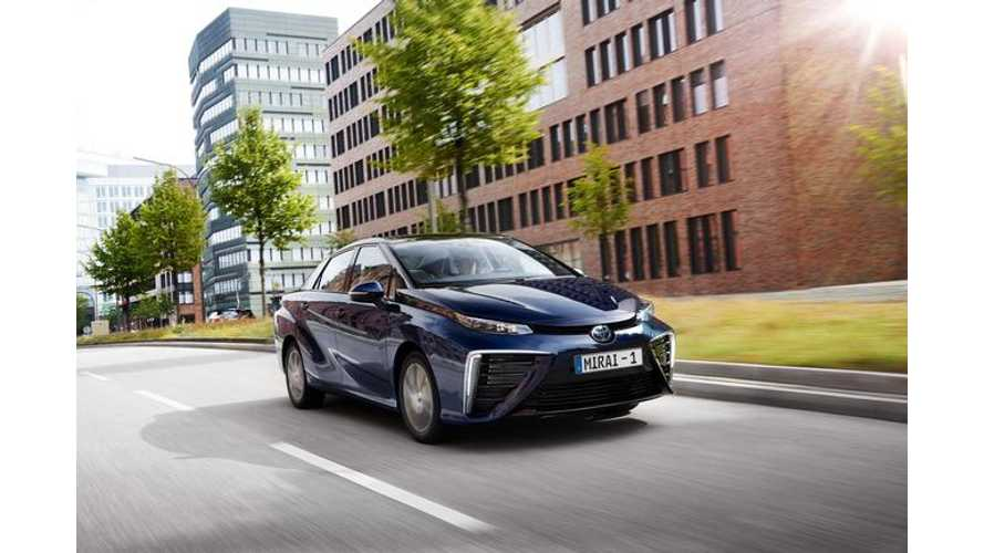 Toyota Alone In Bed With Hydrogen As EVs Take Control