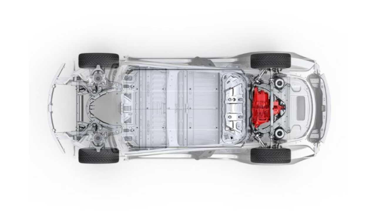 Long Range Tesla Model 3 (single-motor, rear-wheel drive)