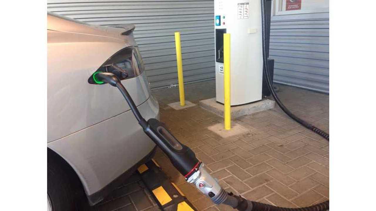 Tesla CHAdeMO Adapter Tested In Georgia
