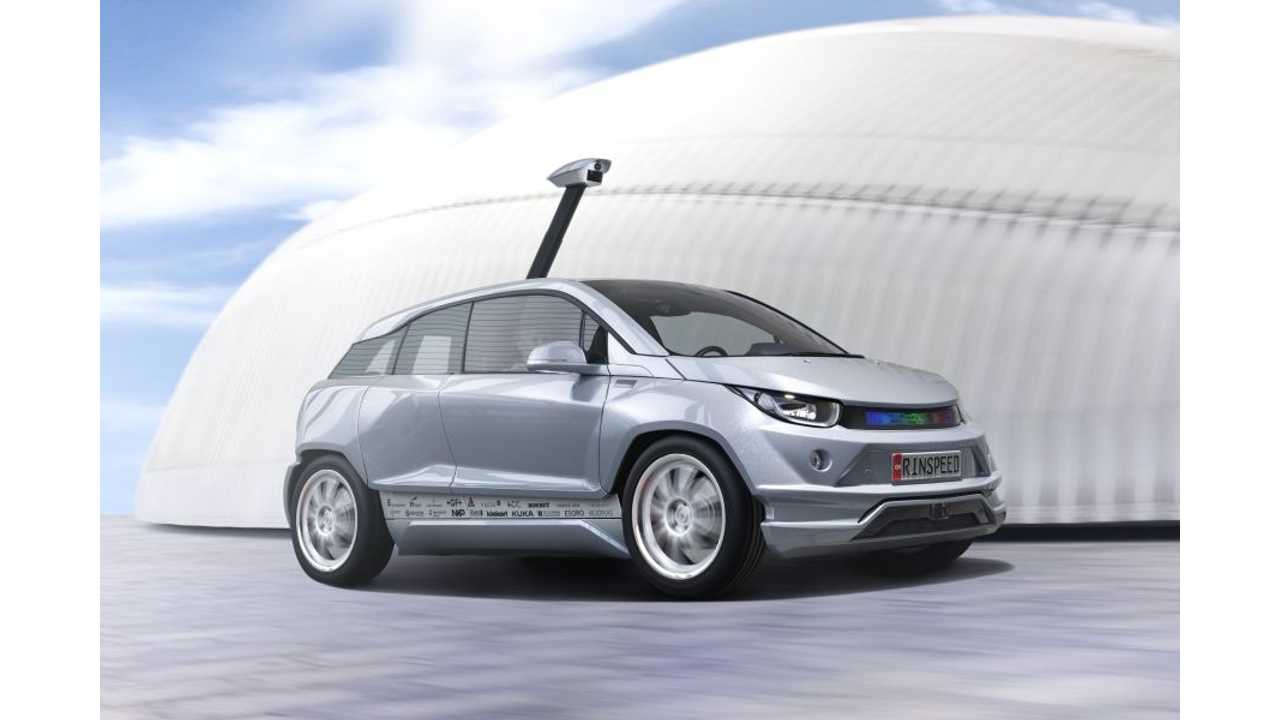 Driverless Rinspeed Budii Based On BMW i3 To Debut At Geneva Motor Show - (w/video)
