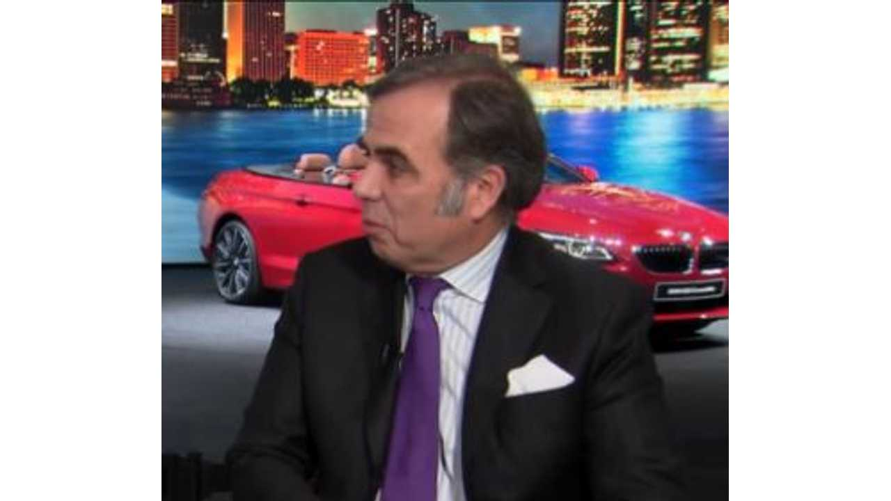 BMW CEO Discusses Electric Cars With Bloomberg - Video