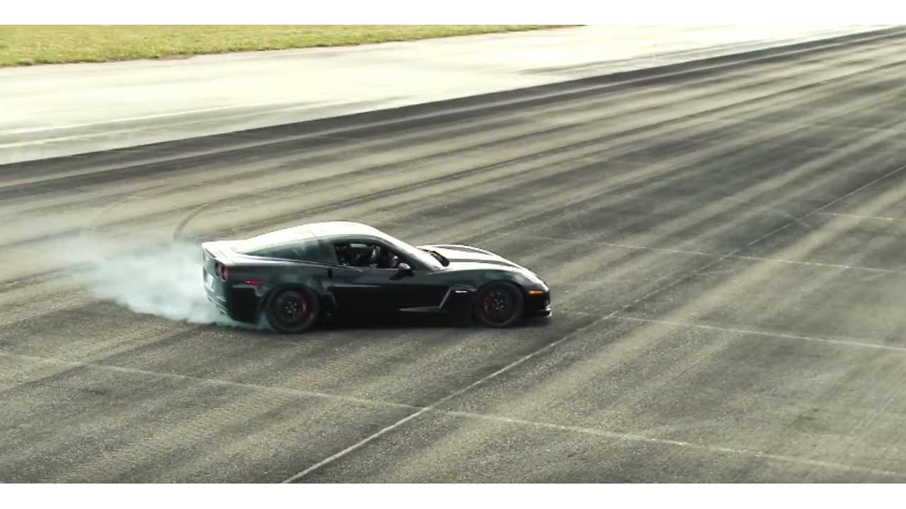 Genovation Corvette Sets 186.8 mph (300 km/h) Speed Record For Street Legal Electric Car