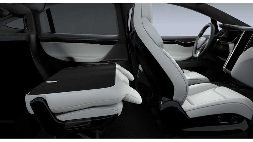 5-Seat Tesla Model X Now Available With Fold Flat Seats, 88 Cubic Feet Of Cargo Space