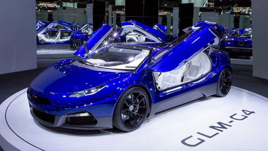 Japanese Electric Supercar GLM G4 With Seating For Four Debuts - Video