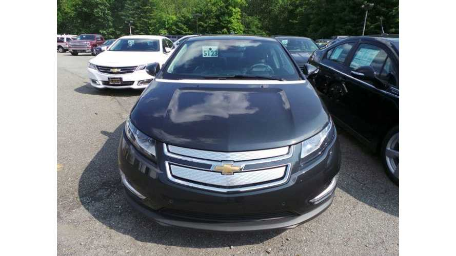 2015 Chevy Volt Wins Kelley Blue Book's