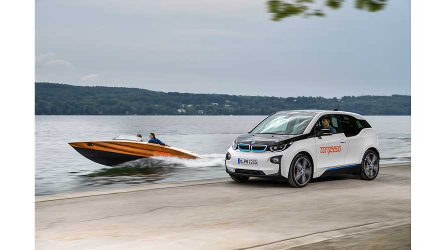 BMW i3 Batteries Powers Torqeedo's Deep Blue Electric Boats