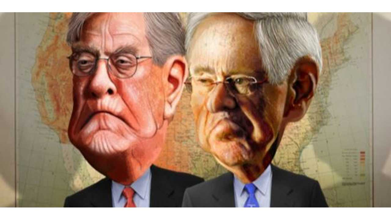 Koch Brothers Attack Electric Cars With Misinformation Campaign Again
