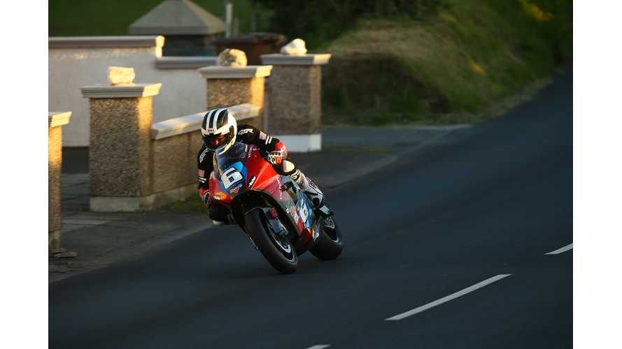 Victory Makes First-Ever IOM TT Zero Lap, Tops 100 MPH Average