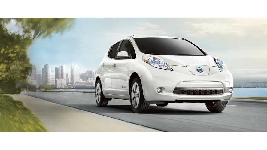 UPDATE: Enhanced 2016 Nissan LEAF To Launch Nationwide In September