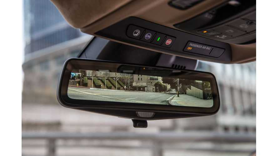 NHTSA Approves Rearview Mirror Camera Found On Chevrolet Bolt & Cadillac CT6 PHEV