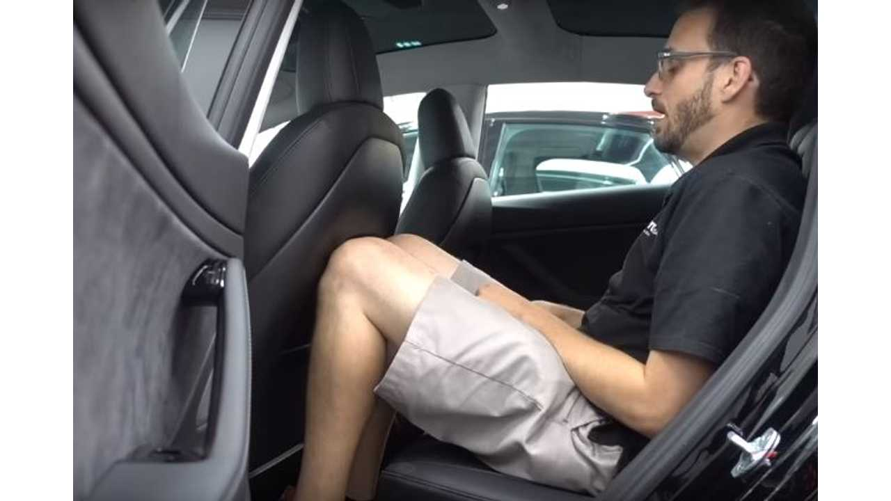 Tesla Model 3 Interior Space Compared To S, X - Video