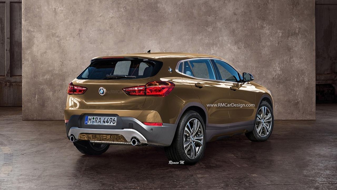 BMW X2 Rendu