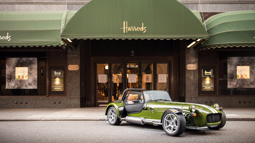 Caterham and Harrods team up for deluxe special edition Seven