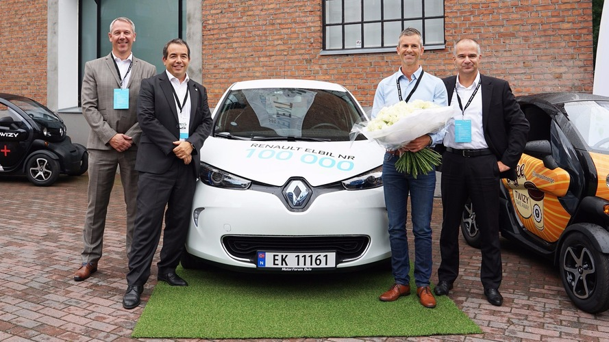 100.000 Renault électriques dans la nature