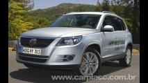 Volkswagen mostra Tiguan HyMotion com motor à hidrogênio e eletricidade
