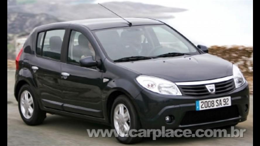 """Salão de Genebra 2008: Dacia apresenta o """"brasileiro"""" Sandero para a Europa"""