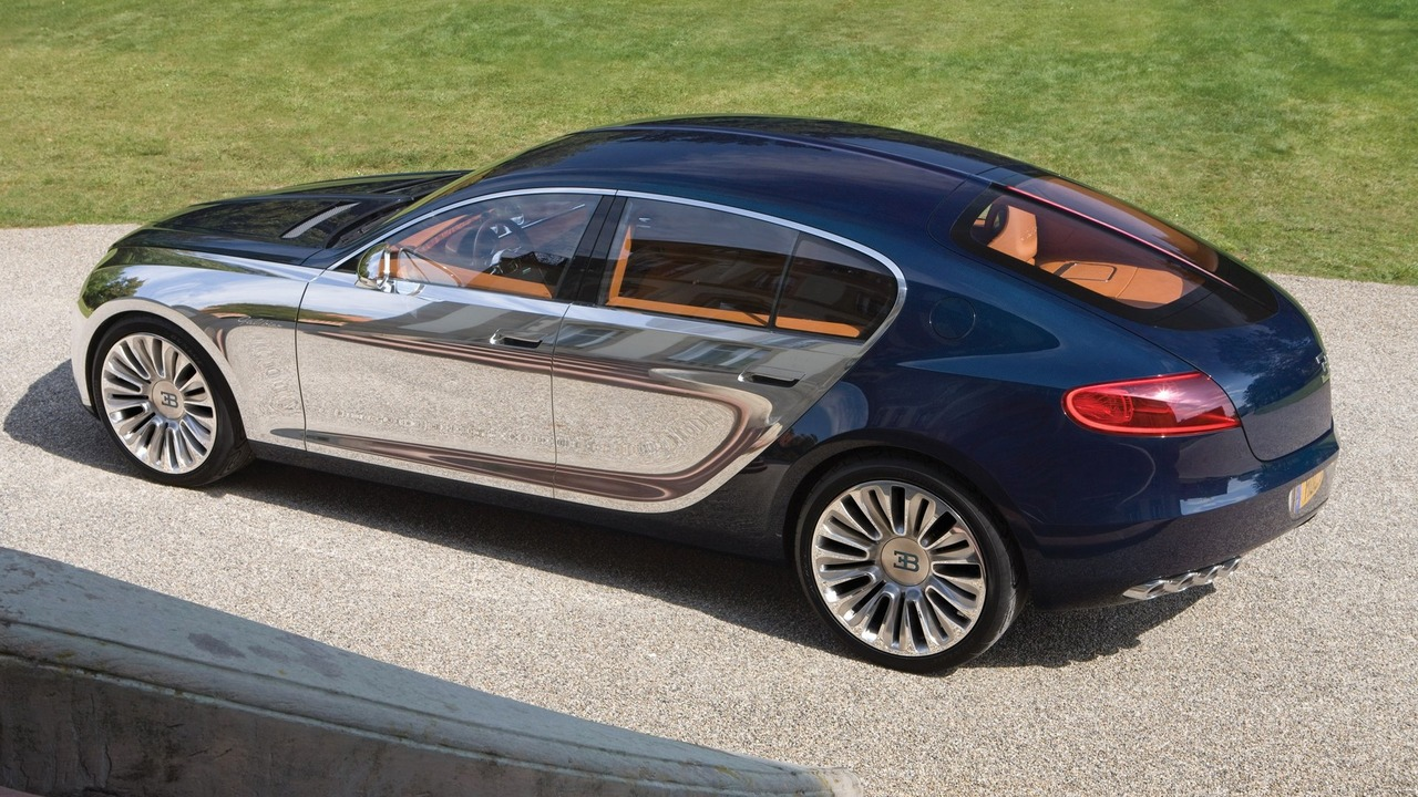 Bugatti Galibier Was Axed Because VW Didn't Like The Design - Motor1