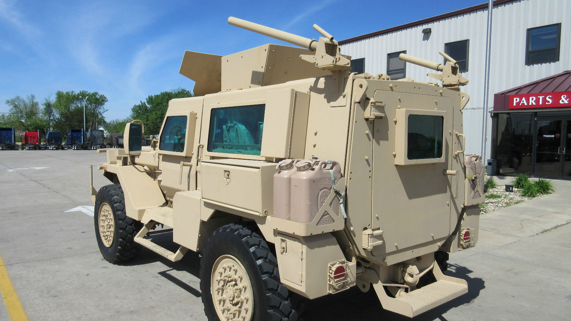 Yes You Can Buy An Mrap Military Vehicle On Ebay
