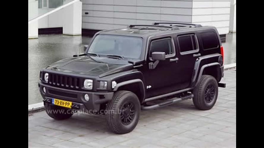 Hummer apresenta série limitada H3 Black Edition para a Europa