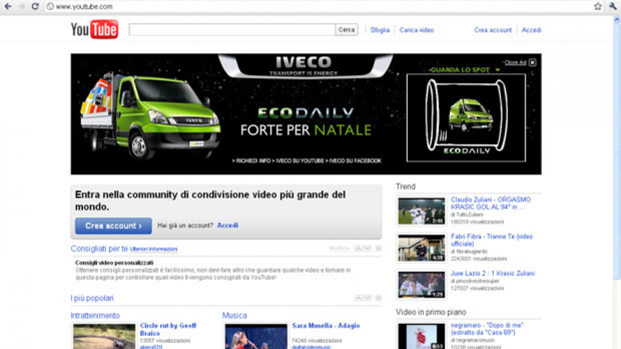 EcoDaily  su YouTube