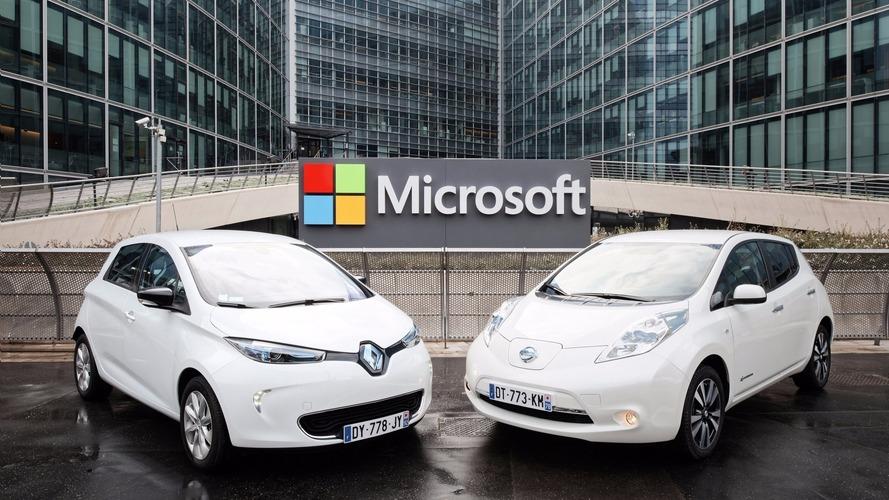 Renault-Nissan et Microsoft s'allient pour l'avenir de la conduite connectée