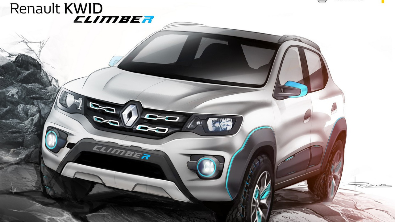 Renault Kwid Racer Climber Concepts Debut At Auto Expo Video