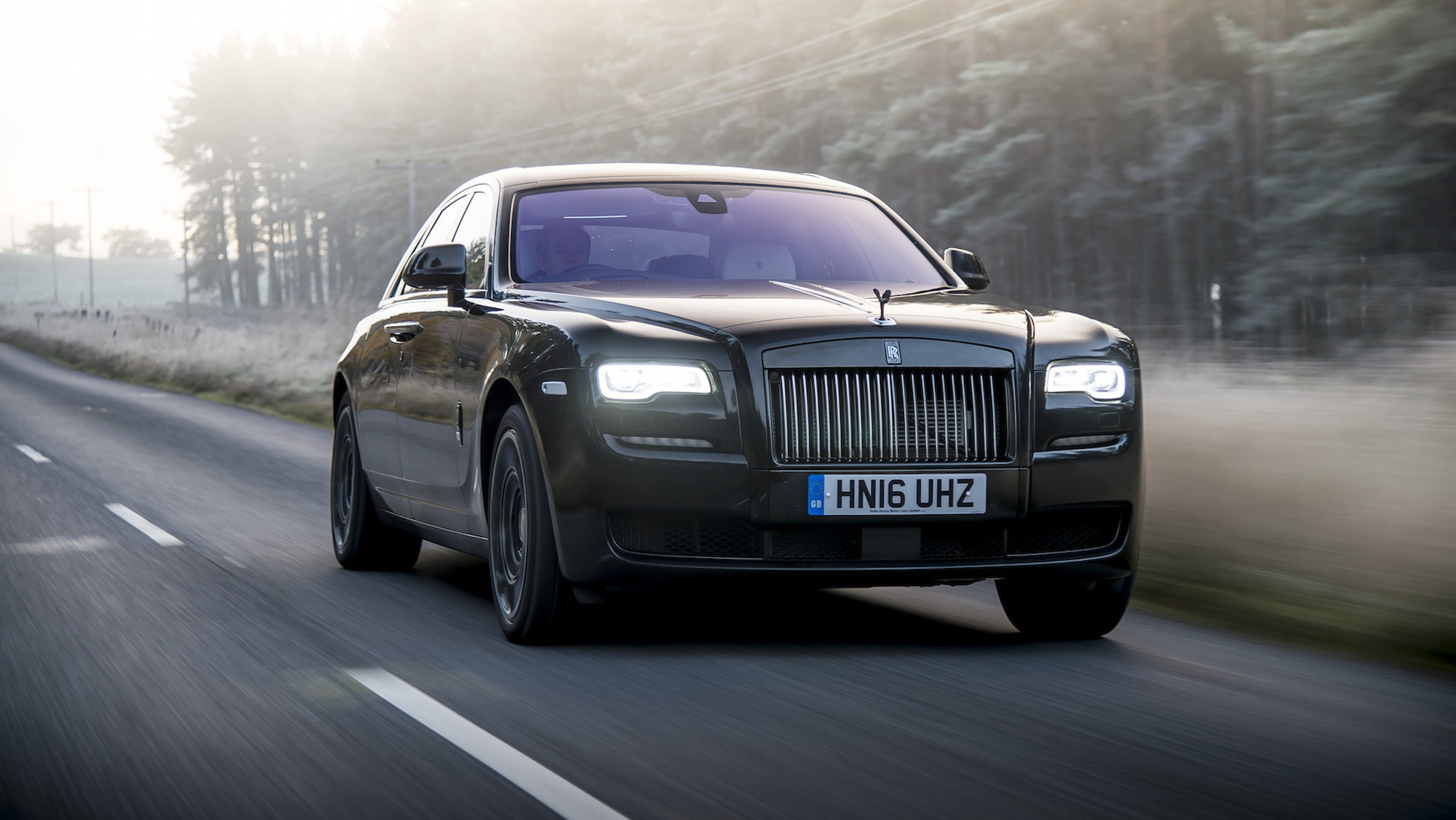 Rolls Royce Ghost Dresses Up In Versace For London Fashion Week