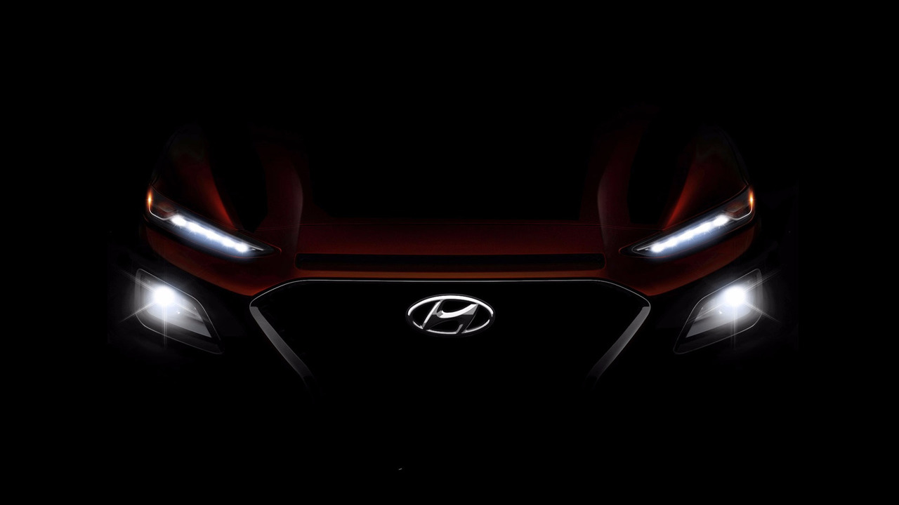 2018 Hyundai Kona teaser photo front