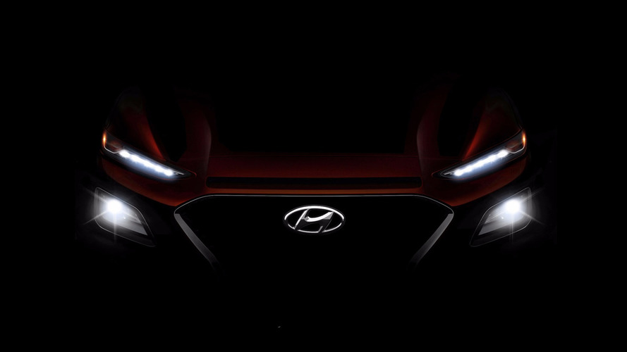 Hyundai Kona Teaser Previews Upcoming Compact Crossover