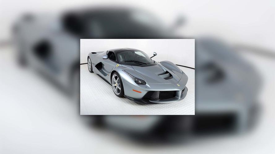 Titanyum gümüş renkli LaFerrari 4 milyon dolara satışta