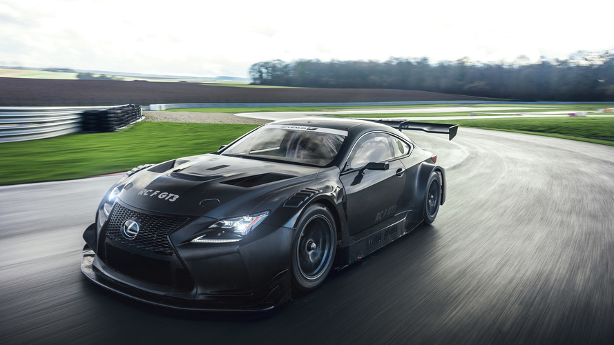 Lexus RC F GT3 ready to frighten Geneva crowd with menacing body