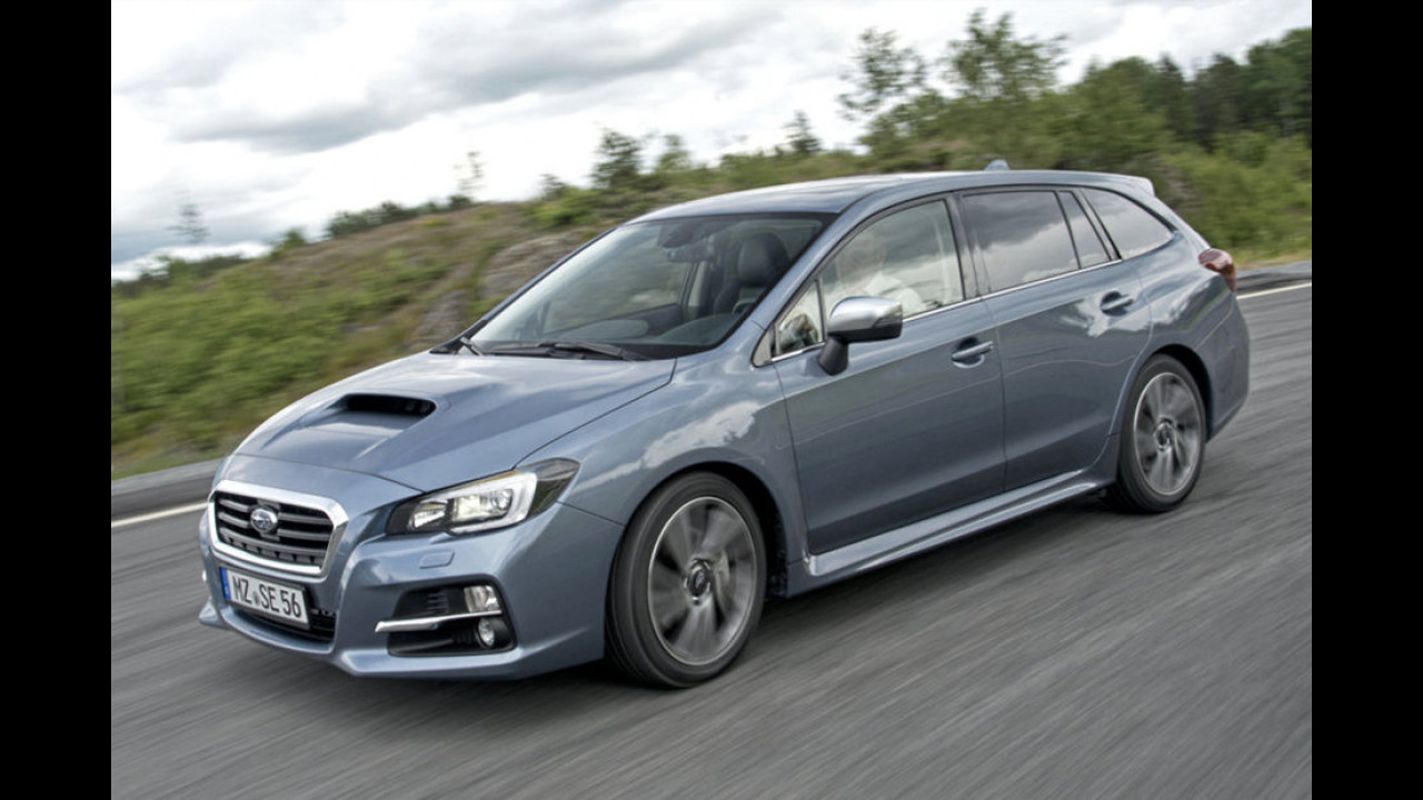 Mittelklasse: Subaru Levorg als zweitstärkster Verlierer
