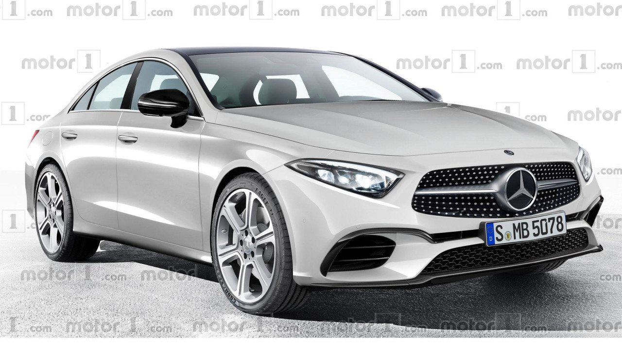 Mercedes-Benz CLS 2018 render