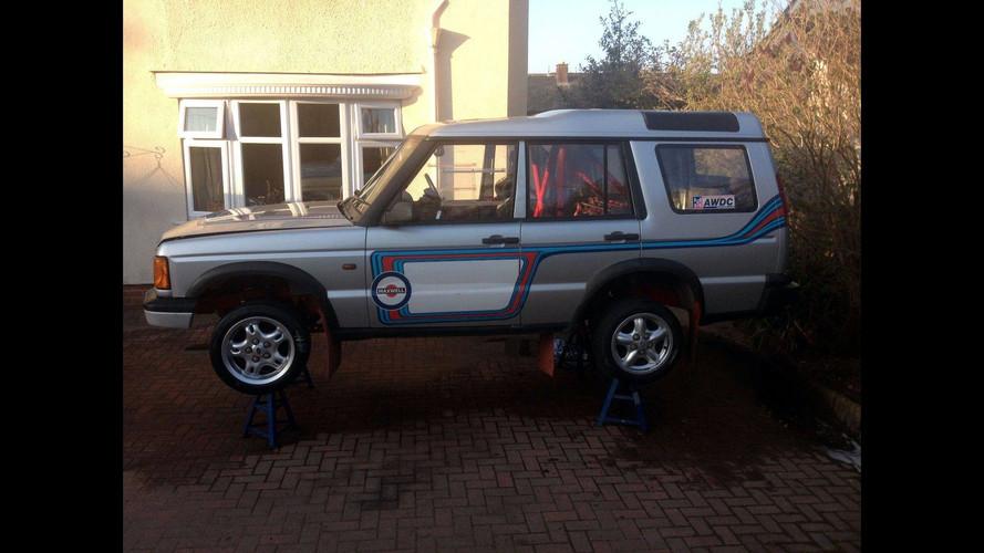 M3 motorlu Land Rover ralli aracı satışta