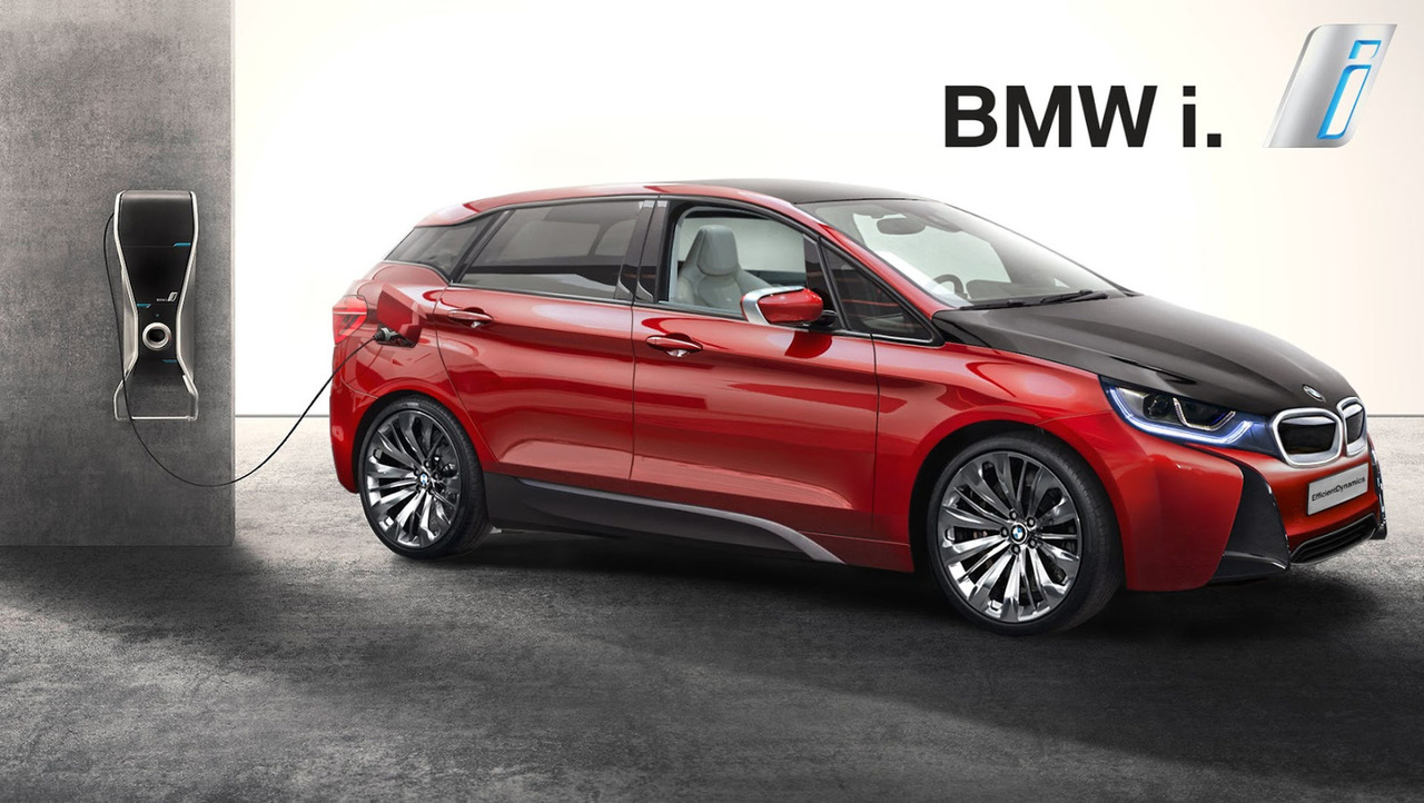 2020 BMW i5 rendering
