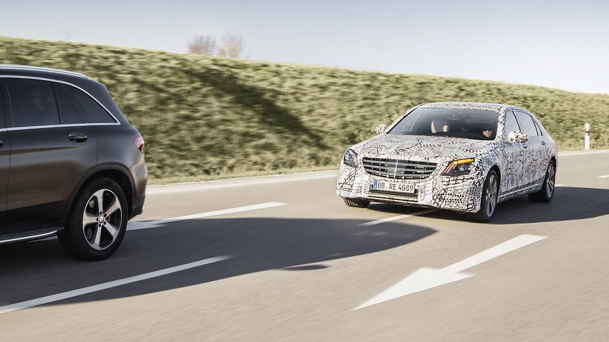 Revised 2018 Mercedes S-Class Edges Closer To Full Autonomy