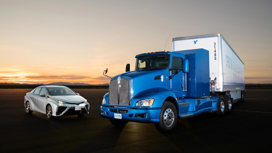 Toyota Project Portal Semi Wants To Drive Down Hydrogen Costs
