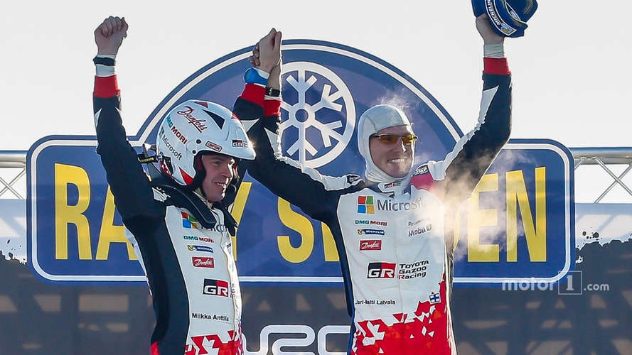 Toyota takes first WRC win since 1999, just two events into comeback